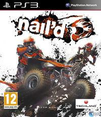 Portada oficial de nail'd para PS3