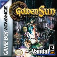 Portada oficial de Golden Sun 2 para Game Boy Advance