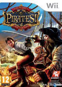 Portada oficial de Sid Meier's Pirates! para Wii