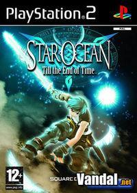 Portada oficial de Star Ocean 3 para PS2
