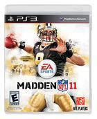 Portada oficial de de Madden NFL 11 para PS3