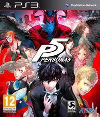 Portada oficial de Persona 5 para PS3