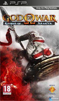 Portada oficial de God of War: Ghost of Sparta para PSP