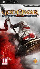 Portada oficial de de God of War: Ghost of Sparta para PSP