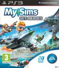 Portada oficial de MySims SkyHeroes para PS3