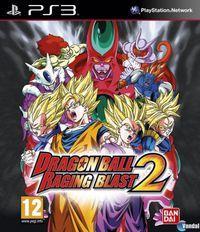 Portada oficial de Dragon Ball Raging Blast 2 para PS3