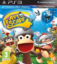 Portada oficial de Ape Escape para PS3