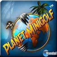 Portada oficial de Planet Minigolf PSN para PS3