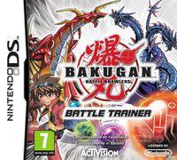 Portada oficial de Bakugan: Battle Trainer para NDS