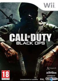 Portada oficial de Call of Duty: Black Ops para Wii