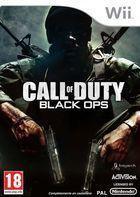 Portada oficial de de Call of Duty: Black Ops para Wii