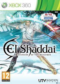 Portada oficial de El Shaddai: Ascension of the Metatron para Xbox 360