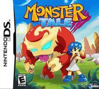 Portada oficial de Monster Tale para NDS