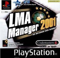 Portada oficial de Manager de Liga 2001 para PS One