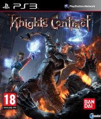 Portada oficial de Knight's Contract para PS3