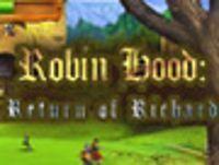 Portada oficial de Robin Hood: The Return of Richard WiiW para Wii