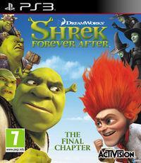 Portada oficial de Shrek: ¿Felices para siempre? El videojuego para PS3