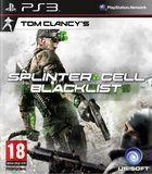 Portada oficial de de Splinter Cell: Blacklist para PS3
