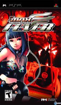 Portada oficial de DJ Max Fever para PSP
