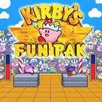 Portada oficial de Kirby's Fun Pack CV para Wii