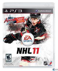 Portada oficial de NHL 11 para PS3