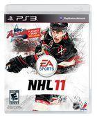 Portada oficial de de NHL 11 para PS3