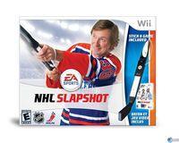 Portada oficial de NHL Slapshot para Wii