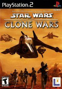 Portada oficial de Star Wars: The Clone Wars para PS2