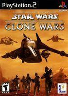 Portada oficial de de Star Wars: The Clone Wars para PS2