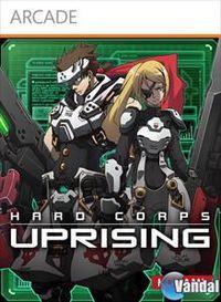 Portada oficial de Hard Corps: Uprising XBLA para Xbox 360