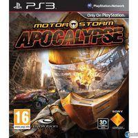 Portada oficial de MotorStorm: Apocalypse  para PS3