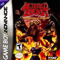 Portada oficial de Altered Beast para Game Boy Advance