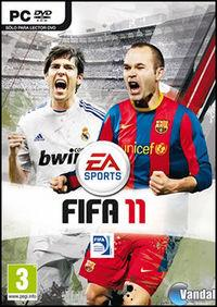 Portada oficial de FIFA 11 para PC