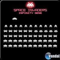 Portada oficial de Space Invaders Infinity Gene PSN para PS3