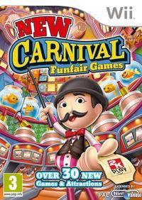 Portada oficial de New Carnival Games para Wii