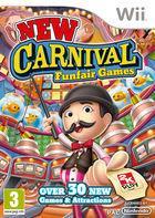 Portada oficial de de New Carnival Games para Wii