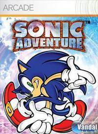 Portada oficial de Sonic Adventure XBLA para Xbox 360