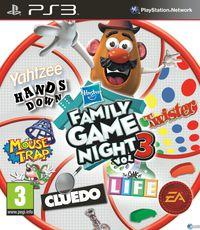 Portada oficial de Hasbro Family Game Night para PS3