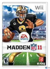 Portada oficial de Madden NFL 11 para Wii