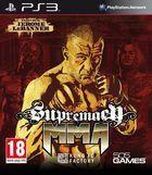 Portada oficial de de Supremacy MMA para PS3