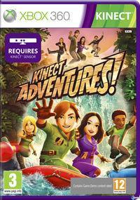 Portada oficial de Kinect Adventures para Xbox 360