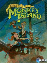 Portada oficial de Tales of Monkey Island Chapter 3: Lair of the Leviathan PSN para PS3