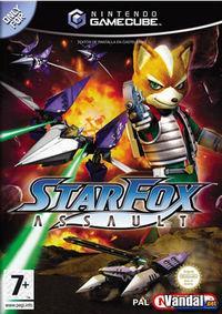 Portada oficial de Star Fox Assault para GameCube