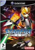 Portada oficial de de Star Fox Assault para GameCube