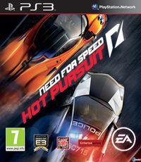 Portada oficial de Need for Speed Hot Pursuit para PS3