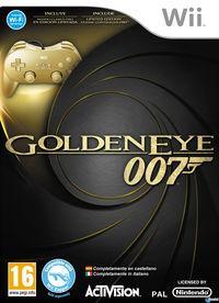 Portada oficial de GoldenEye 007 para Wii