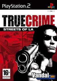 Portada oficial de True Crime: Streets of Los Angeles para PS2
