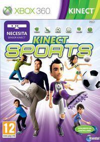 Portada oficial de Kinect Sports para Xbox 360