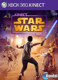 Portada oficial de Kinect Star Wars para Xbox 360