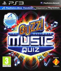 Portada oficial de Buzz: The Ultimate Music Quiz para PS3